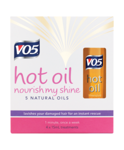 VO5 Nourish My Shine Hot Oil 4 x 15ml