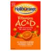Seven Seas Haliborange Vitamins A C & D 60 Orange Flavour Chewable Tablets