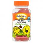 Haliborange Mr. Men Little Miss Multivitamins 30 Strawberry Softies