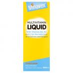 Minavex Multivitamin Liquid Orange Flavour 400ml
