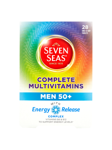 Seven Seas Complete Multivitamins Men 50+ 28 One-a-Day Tablets
