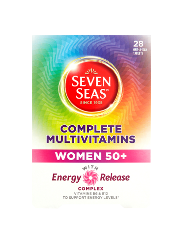 Seven Seas Complete Multivitamins Women 50+ 28 One-A-Day Tablets