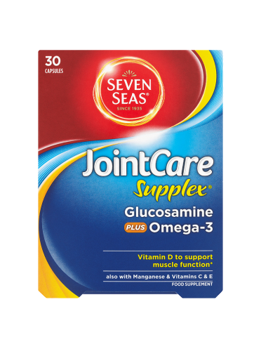 Seven Seas JointCare Supplex Glucosamine Plus Omega-3 30 Capsules