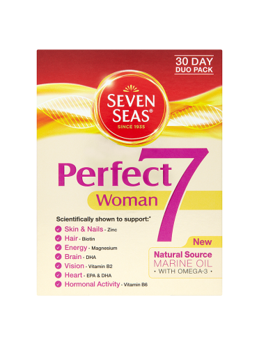 Seven Seas Perfect7 Woman 30 Day Duo Pack 60 Tablets/Capsules