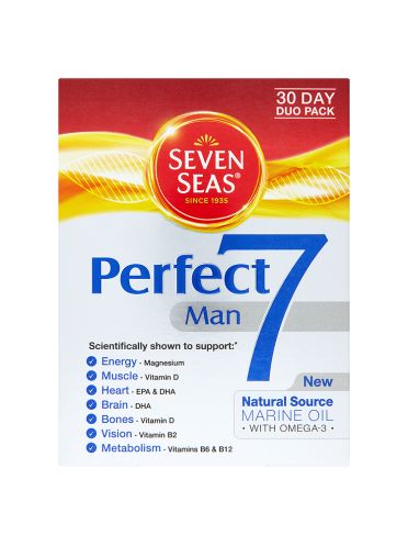 Seven Seas Perfect7 Man 30 Day Duo Pack 60 Tablets/Capsules