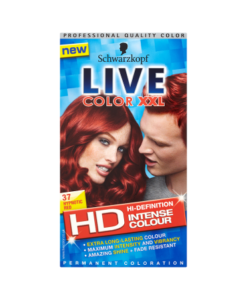 Schwarzkopf Live Color XXL HD Intense Colour Permanent Coloration 37 Hypnotic Red