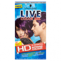 Schwarzkopf Live Color XXL HD Intense Colour Permanent Coloration 87 Mystic Violet