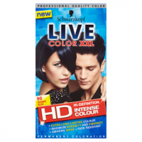 Schwarzkopf Live Color XXL HD Intense Colour Permanent Coloration 90 Cosmic Blue