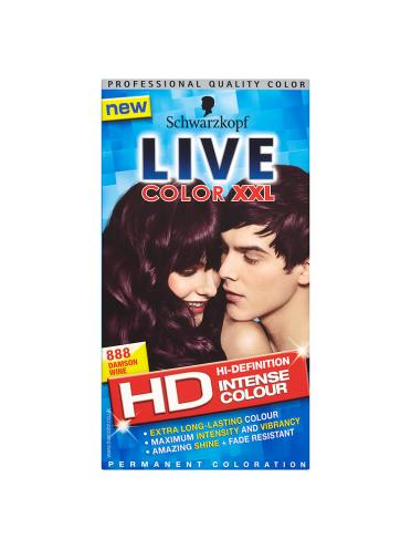 Schwarzkopf Live Color XXL HD Intense Colour Permanent Coloration 888 Damson Wine
