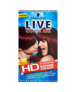 Schwarzkopf Live Color XXL HD Intense Colour Permanent Coloration 47 Plum Perfection