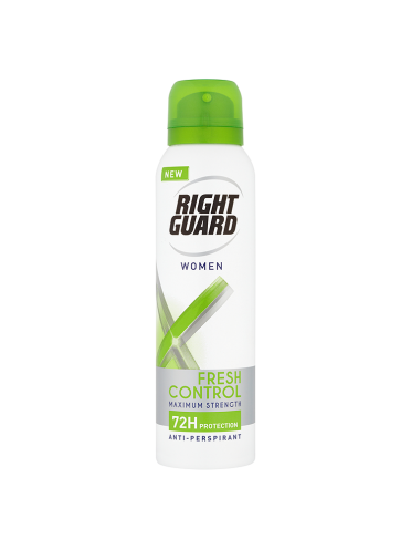 Right Guard Xtreme Women Fresh Control 72H Protection Anti-Perspirant 150ml