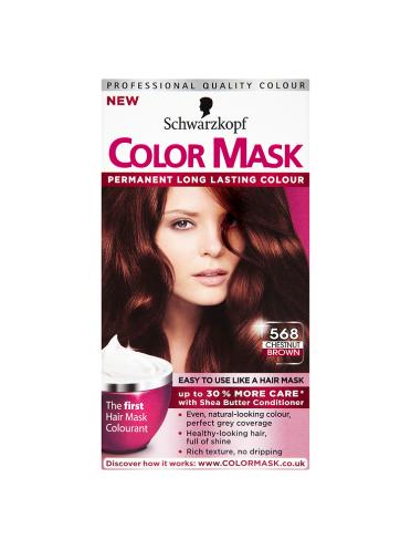 Schwarzkopf Color Mask 568 Chestnut Brown Permanent Hair Dye