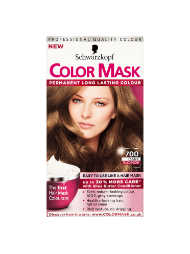 Schwarzkopf Color Mask 700 Dark Blonde Permanent Hair Dye