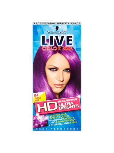Schwarzkopf Live Color XXL Ultra Brights Semi-Permanent Colour 94 Purple Punk