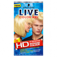 Schwarzkopf Live Color XXL HD Intense Colour Permanent Coloration 02 Atomic Blonde