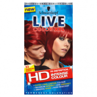 Schwarzkopf Live Color XXL HD Intense Colour Permanent Coloration 33 Scandalous Scarlet