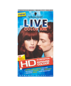 Schwarzkopf Live Color XXL HD Intense Colour Permanent Coloration 48 Cherry Mahogany