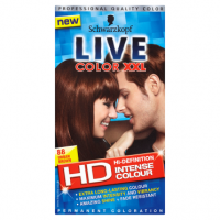 Schwarzkopf Live Color XXL HD Intense Colour Permanent Coloration 88 Urban Brown