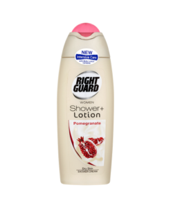 Right Guard Women Shower + Lotion Shower Cream Pomegranate 250ml