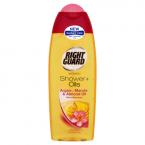 Right Guard Women Shower + Oils Shower Gel Argan, Marula & Almond Oil Monoiblossom 250ml