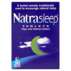 NatraSleep Tablets 50 Night-Time Tablets