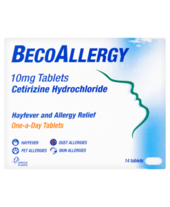 BecoAllergy 10mg Tablets 14 Tablets