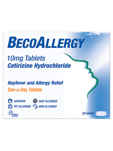 BecoAllergy 10mg Tablets 30 Tablets
