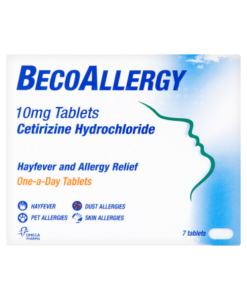BecoAllergy 10mg Tablets 7 Tablets