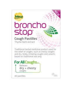 Buttercup Bronchostop Cough Pastilles 40 Pastilles