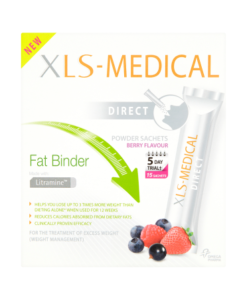 XLS-Medical Direct Fat Binder Berry Flavour Powder Sachets 15 Sachets x 2.6g