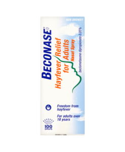 Beconase Hayfever Relief for Adults Nasal Spray 100 Sprays