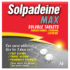 Solpadeine Max Soluble Tablets 16 Tablets