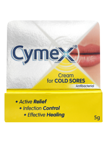 Cymex Cream for Cold Sores Antibacterial 5g