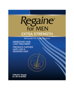 Regaine for Men Extra Strength 3 x 60ml