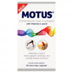 Motus (Undenatured Type II Collagen) 30 One-a-day Capsules