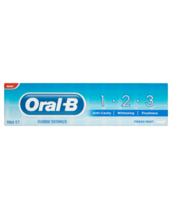 Oral-B 1-2-3 Fluoride Toothpaste 100ml