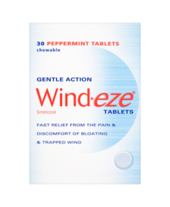 Wind-eze Tablets 30 Chewable Peppermint Tablets