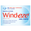 Wind-eze Gentle Action Gel Caps 20 Soft Gel Capsules