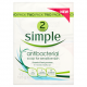 Simple Anti-Bacterial Soap for Sensitive Skin 2 x 125g