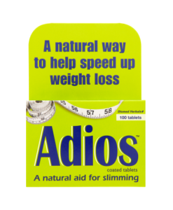 Adios Coated Tablets 100 Tablets