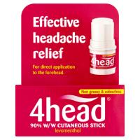 4head Effective Headache Relief Stick 3.6g