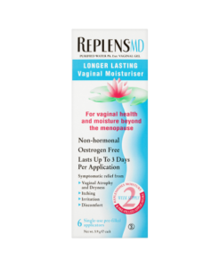 Replens MD Longer Lasting Vaginal Moisturiser 6 x 5.9g