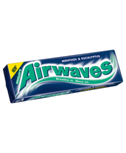 Airwaves Menthol & Eucalyptus Flavour Sugarfree Chewing Gum 10 Pellets 14g