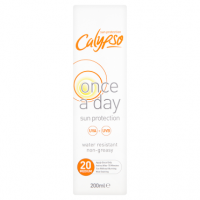 Calypso Once a Day Sun Protection 20 Medium 200ml