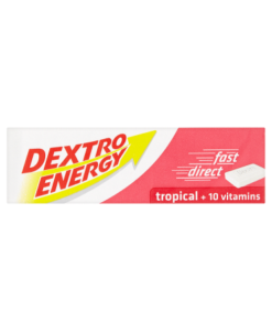 Dextro Energy Tropical + 10 Vitamins 47g