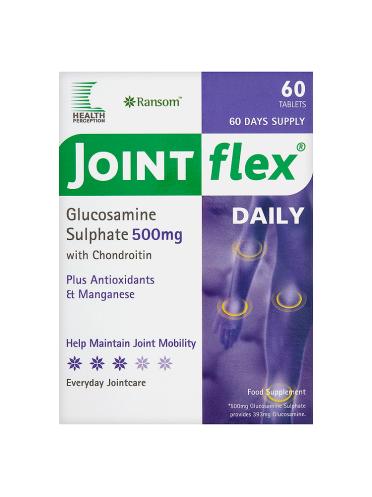 Ransom Health Perception Jointflex Daily Glucosamine Sulphate 500mg 60 Tablets