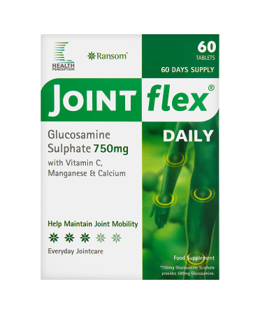 Ransom Health Perception Jointflex Daily Glucosamine Sulphate 750mg 60 Tablets
