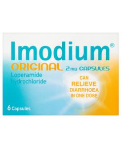 Imodium Original 2mg Capsules 6 Capsules