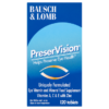 Bausch & Lomb PreserVision 120 Tablets