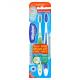 Wisdom Regular Fresh Toothbrush Medium 2 Pack